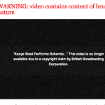 BBC Ban Kanye West Video Murdering Bohemian Rhapsody On You Tube