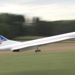 Concorde Remote Controlled Plane Powered By Two Turbines